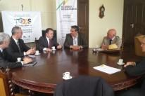 Deputado João Fischer reuniu-se com dirigentes do setor laneiro
