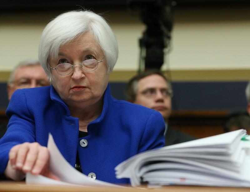 Presidente do Fed, Janet Yellen fez uma apresentação dos planos monetários para a Câmara dos EUA