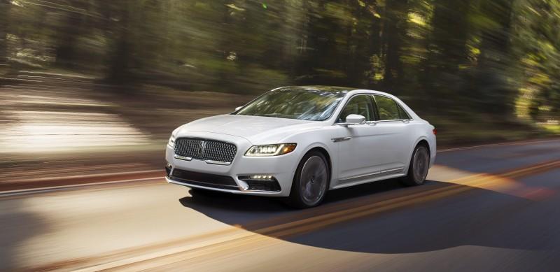 A Lincoln, marca de luxo do grupo Ford, relançará o Continental, um sedã grande, poderoso, elegante e luxuoso
