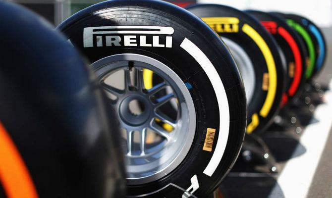 Linha de pneus em fábrica da Pirelli