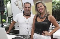 Alf Carvalho e Ana Alice Soares comandaram o som da Ora Felice