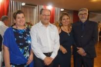 Maria Helena e José Ivo Sartori com Rejane Rubim e Gerson Nunes Pedroso