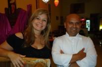 Simone Onantschenko e o chef Gilson Godois comandam o Sawadee