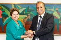 Luiz Fernando Pezão esteve recentemente com Dilma Rousseff