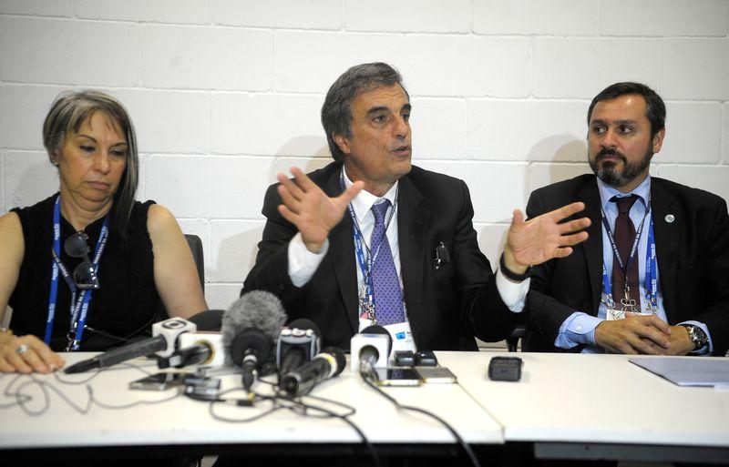 Ministro da Justiça, José Eduardo Cardozo, visita o Centro Integrado de Comando e Controle Setorial