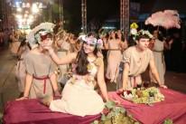 Desfiles típicos abriram a programação em Caxias do Sul
