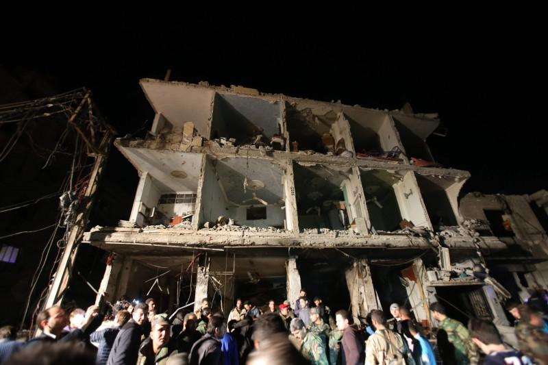 Ataques em Damasco (foto) e Homs deixaram quase 150 mortos