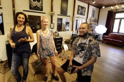 Entrevista com Dominick Pic Nic, Emanuele Pizzoto e Elisa Forrati morena), sócios do estúdio Axis anima.