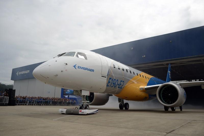 Empresa apresentou nesta quinta-feira o E190-E2, primeiro jato da segunda geração da família de E-Jets de aviões comerciais