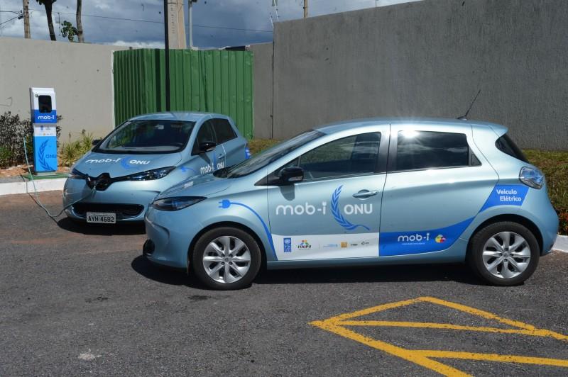 A Itaipu binacional desenvolve um projeto pioneiro de carros a bateria