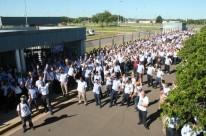 Trabalhadores da montadora realizaram assembleia em Gravataí