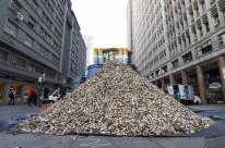 8.600 bitucas foram recolhidas na manhã de ontem