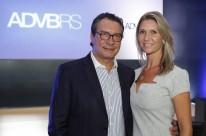 Sérgio Maia e Cristiane Haas no prestigiado almoço de posse