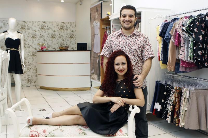 Wall e Charão, da Wall Mends: casal trocou galeria de rua pelo Praia de Belas