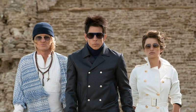 Owen Wilson, Ben Stiller e Penélope Cruz estrelam Zoolander 2