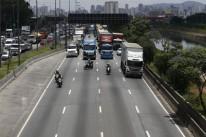 Os caminhões são os maiores transportadores de carga no Brasil