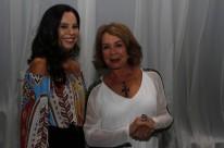 Rosalia Schwark e Tânia Carvalho na noite dedicada ao público feminino