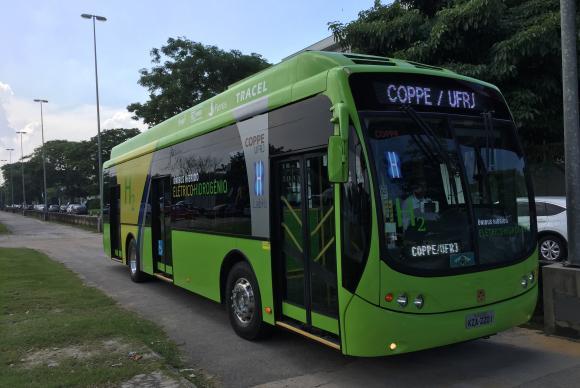 Ônibus ecológico, movido a energia e hidrogênio, será usado por atletas nos Jogos Olímpicos de 2016