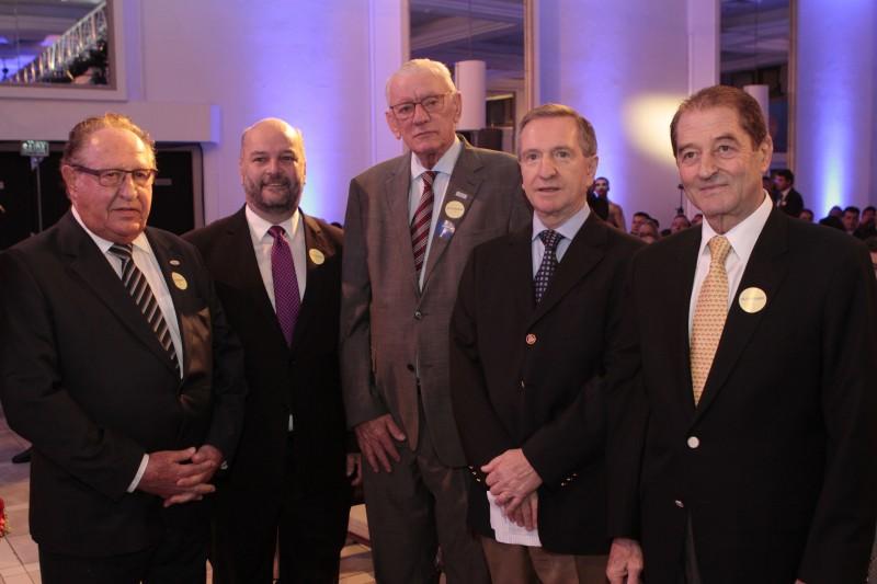 Zildo De Marchi, Vitor Augusto Koch, Heitor Müller, Mércio Tumelero e Ricardo Russowsky
