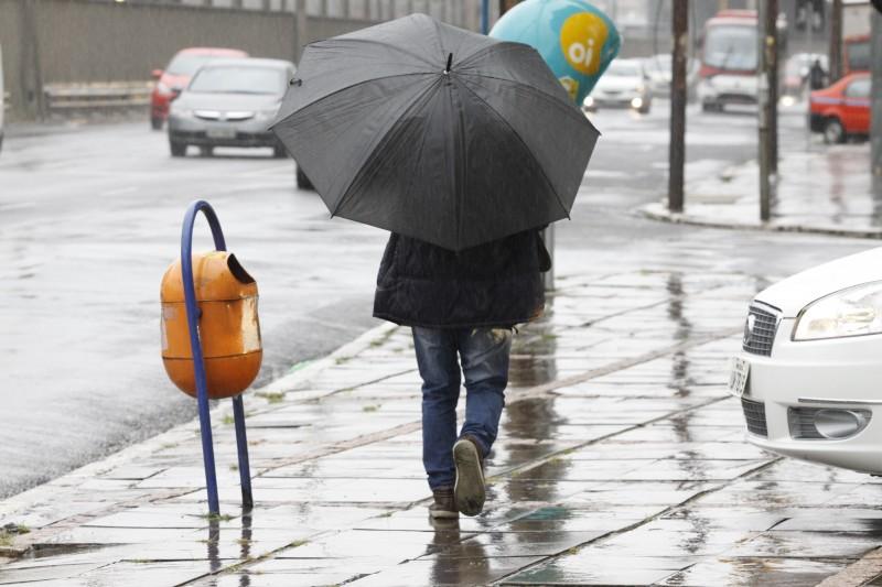 Chuva atingiu a Capital e causou transtornos nesta quinta-feira