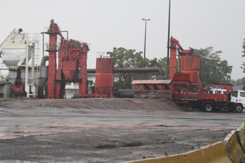 Local no bairro Sarandi, na Zona Norte, terá capacidade de produzir 140 toneladas do material por hora