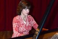 Cristina Capparelli é uma das atrações de recital na Pinacoteca Ruben Berta