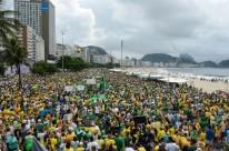 Rio: Manifestação em Copacabana