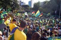 Ato contra Dilma no Parcão