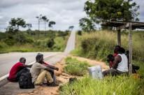 Imagem faz parte da exposição sobre migração haitiana e senegalesa no Brasil