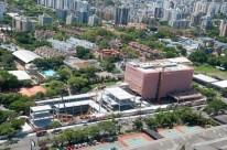 O complexo contará 55 mil metros quadrados de área cosntruída