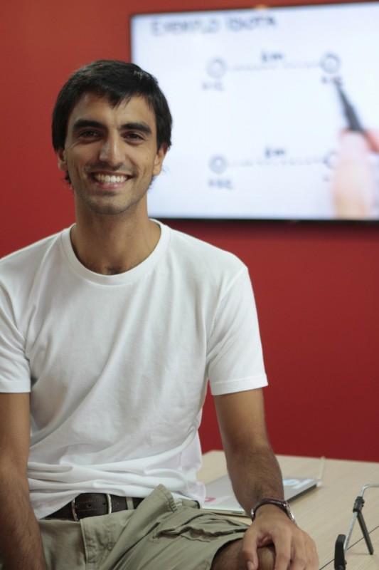Miguel é o criador da plataforma Me Salva!