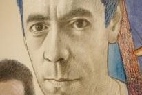 Artista (em autorretrato), nascido em Bagé, é tema de documentário do diretor Zeca Brito