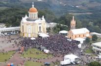 Localizado em Farroupilha, o Santuário de Nossa Senhora do Caravaggio possui um plano diretor próprio