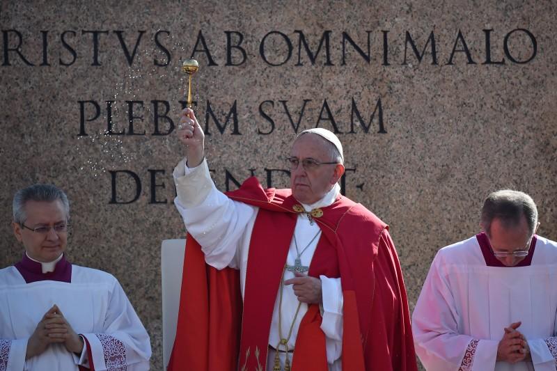 Declaração do Papa Francisco foi feita durante a homilia neste domingo de Ramos
