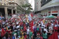 Em Porto Alegre, manifestantes partiram da Esquina Democrática
