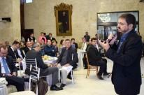 Cláudio Gastal falou para deputados, empresários e banqueiros