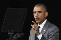 Obama fez um pronunciamento pela televisão, transmitido ao vivo em Cuba