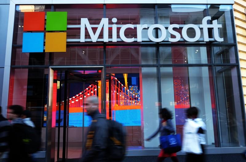 Microsoft é a fornecedora da solução mais popular entre as organizações de maior porte