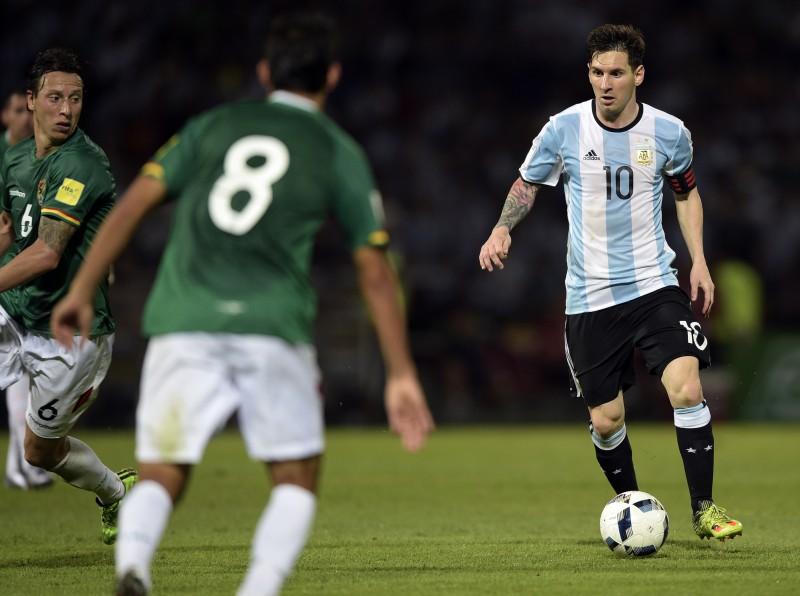 Messi anotou o segundo tento dos argentinos