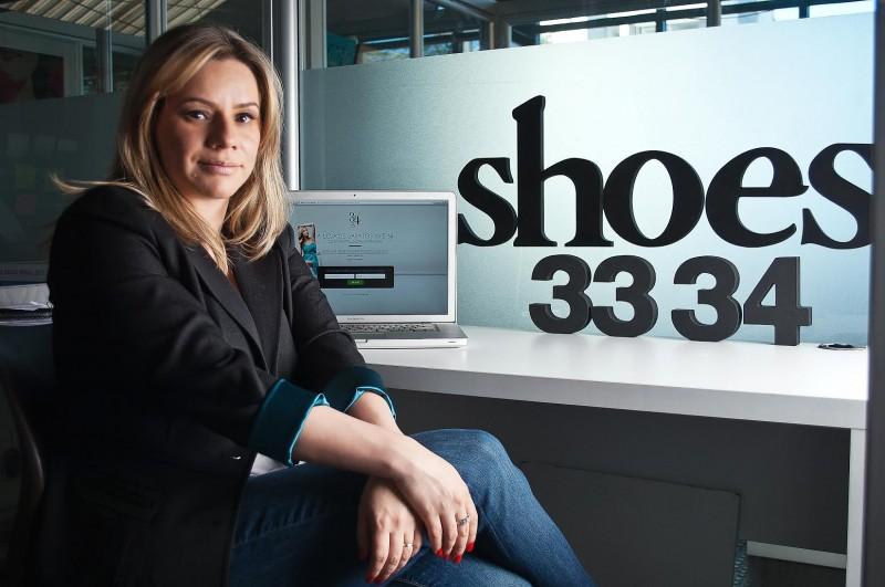 Tânia Gomes criou a marca após ter de comprar sapato infantil