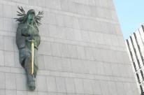Fachada do Palácio da Justiça, na Praça da Matriz