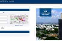 O preenchimento da declaração é realizado via formulário eletrônico disponível na página do Banco Central na internet