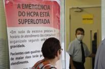 No Hospital de Clínicas, 143 adultos disputavam vaga em 41 leitos