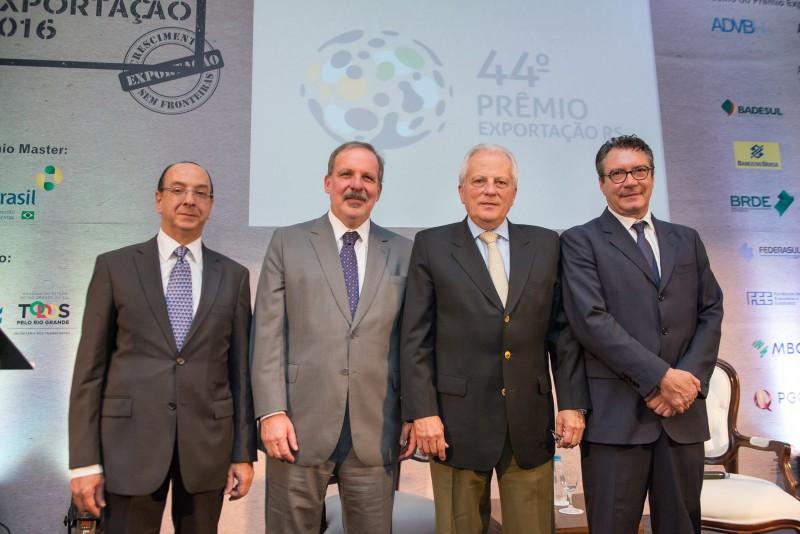 Renato Malcon, Armando Monteiro, José Paulo Cairoli e Sérgio Maia