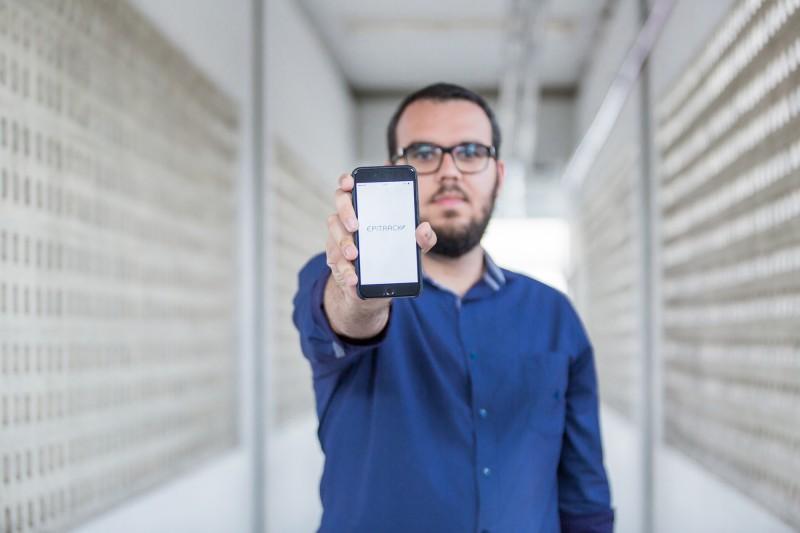 Onício Leal  é CEO da Epitrack, que está concorrendo a um prêmio mundial de inovação com impacto social