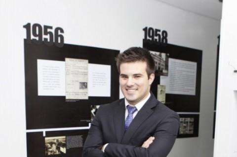 Visita a Redação do Jornal do Comércio do novo presidente da Federação de Jovens Empresários do Rio Grande do Sul    na foto: Luiiz Gustavo Garrido
