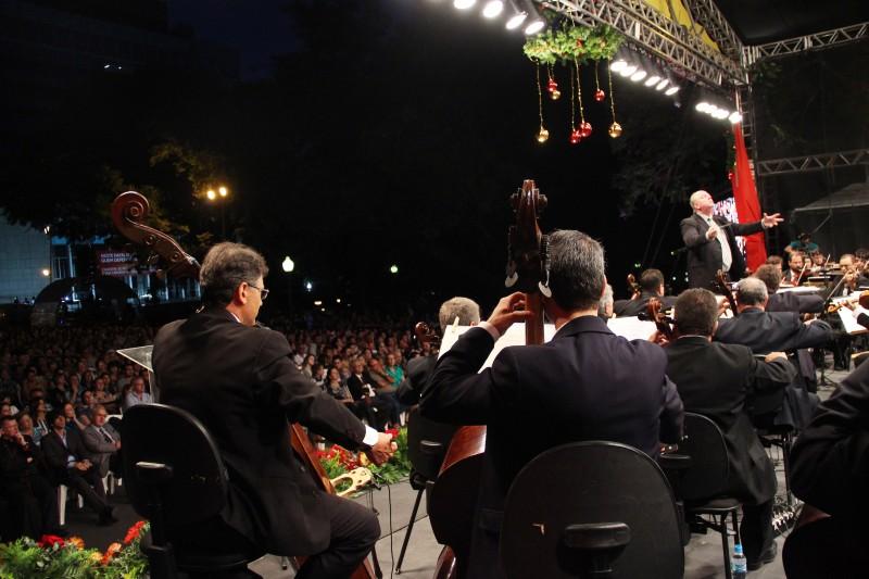 Ospa realiza concerto ao ar livre neste fim de semana
