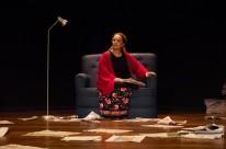 Mirna Spritzer ganhou prêmio pela peça Língua Mãe.Mameloschn