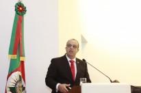Novo defensor público-geral do Estado, Cristiano Vieira Heerdt, toma posse em solenidade no auditório Romildo Bolzan, no Tribunal de Contas do Estado  Na foto:Cristiano Vieira Heerdt