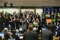 Ao todo 65 deputados votaram em meio a sessão tumultuada e com exaltação de ânimos